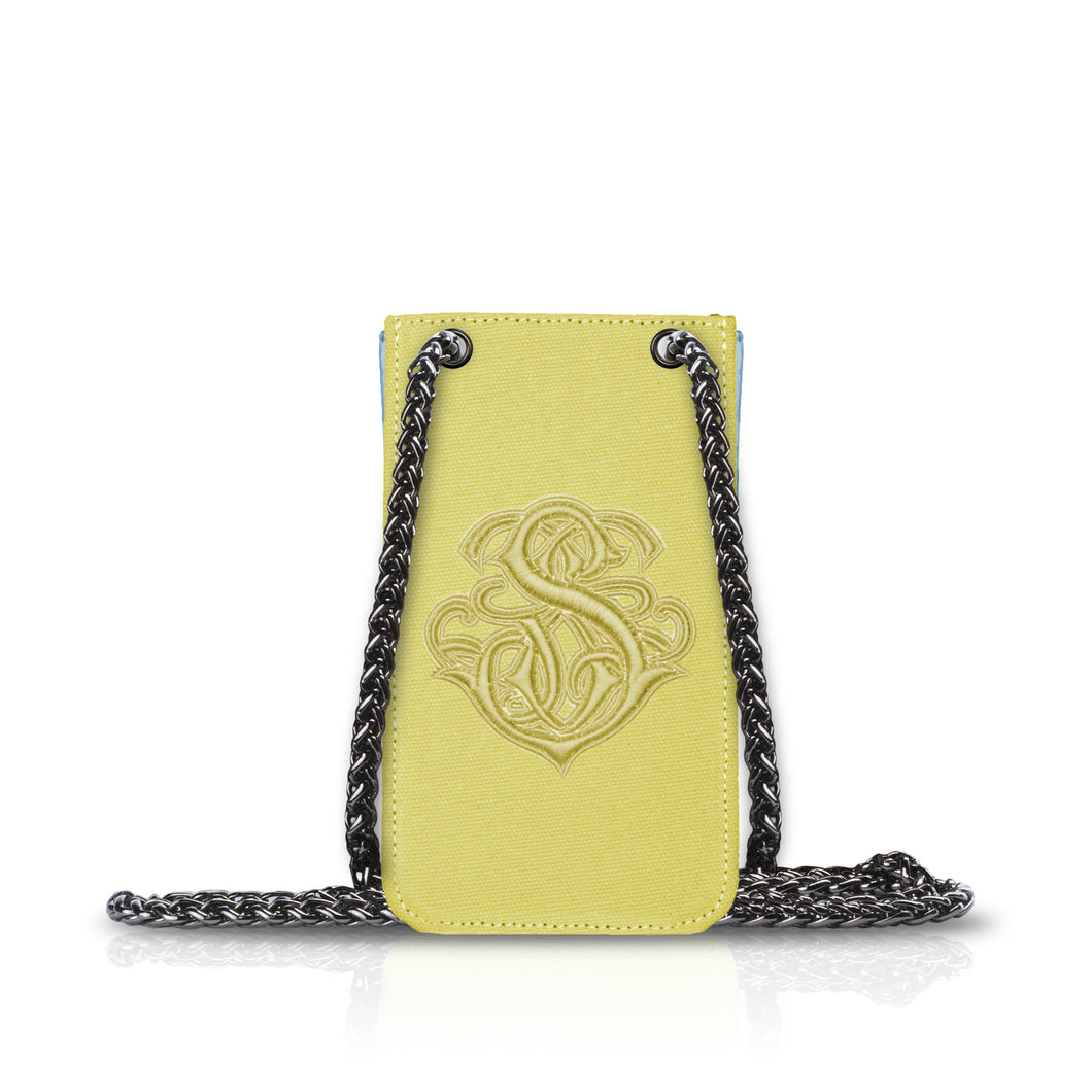 Phone Pouch Yellow