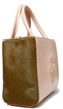 PONY HAIR MINI TOTE