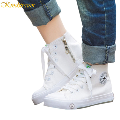 High Top Casual Shoes Kids Fashion Sneakers