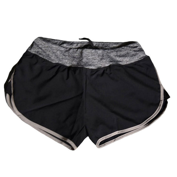Summer Quick-drying Women Shorts Elastic Waist Pattern A Shorts For Gym Fitness Casual Feminino Short Pants