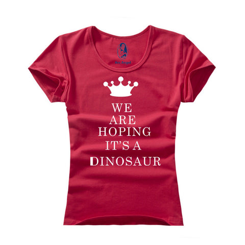 We are hoping its a Dinosaur T-Shirt