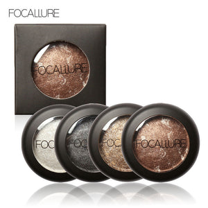 10 Colors Baked Eyeshadow Eye shadow Palette in Shimmer Metallic Eyes Makeup Cosmetics Tools
