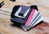Urban Minimalist RFID Blocking Money Clip Wallet - HobbyRevo