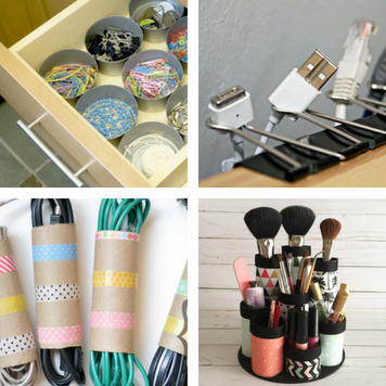 Simple DIY Organizing Ideas For a Clutter-Free Home and Life