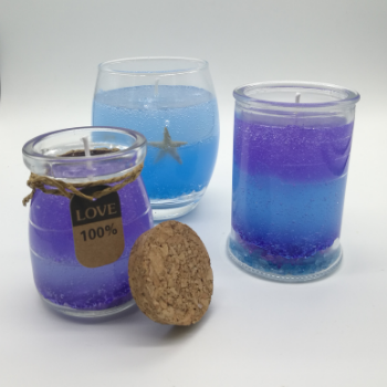 How to Make Gel Candles