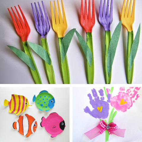 DIY Spring Crafts Kids