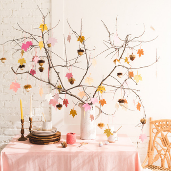 Simple DIY Thanksgiving Decorations for at Home
