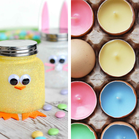 Adorable Easter DIY Decoration Projects In Less Than 30 Minutes