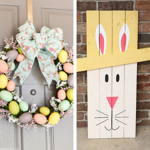 DIY Easter Porch Ideas
