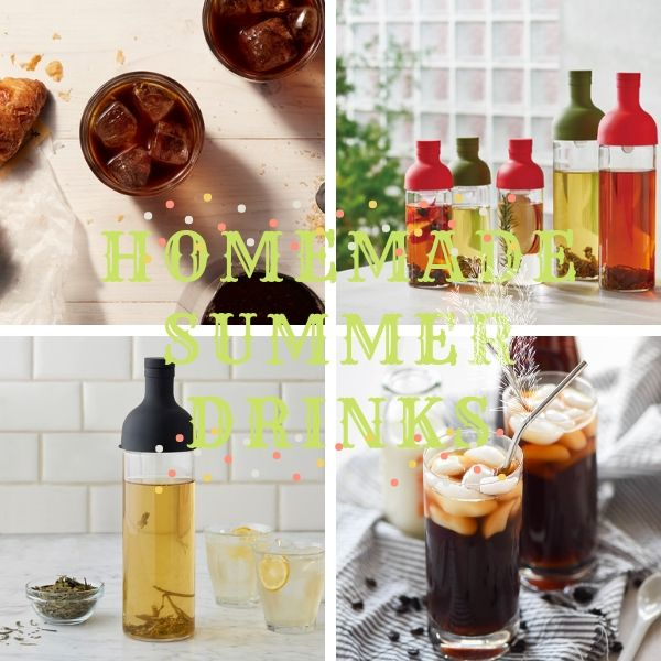 Summer Drinks Recipes: How to Make Homemade Iced Coffee & Tea