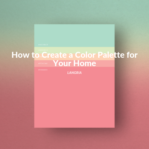 how to create a color palette