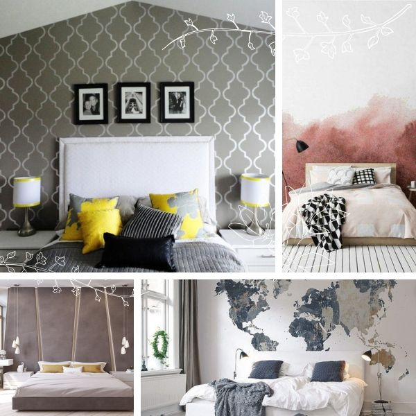 accent walls ideas for bedroom