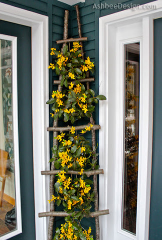 Flower Ladder Porch