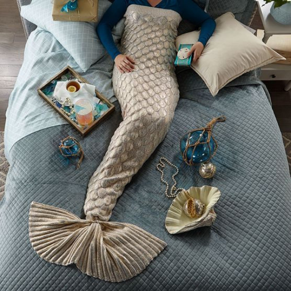 mermaid blanket and culture
