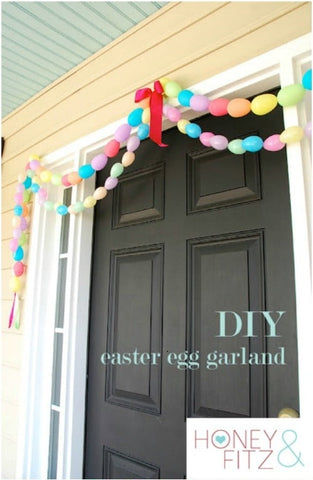 DIY Easter Porch Decor
