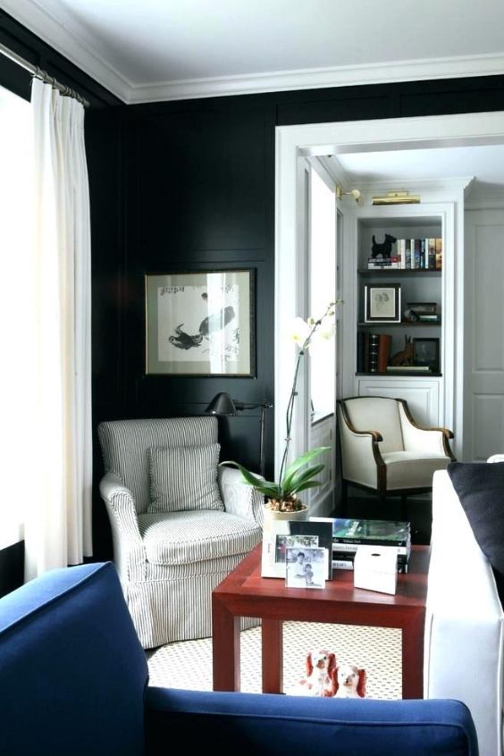 LANGRIA How to make a small room look bigger - all white deep colors