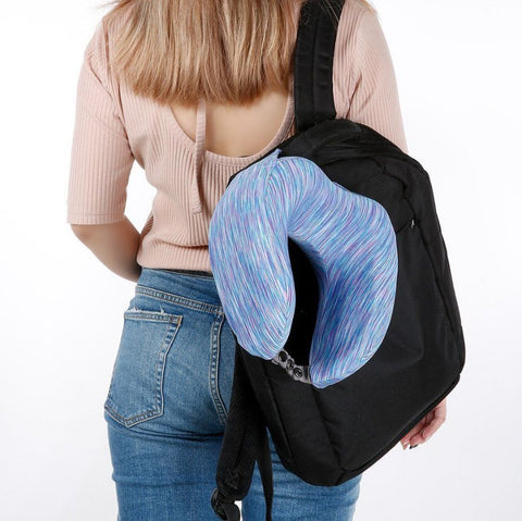 LANGRIA Travel u shape neck pillow