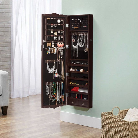 LANGRIA wall mounted jewelry cabinet
