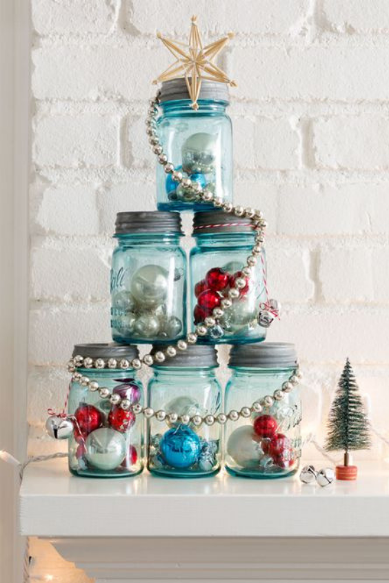 Mason Jar Christmas Gifts Christmas Tree