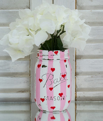 Valentine's Day Mason Jar