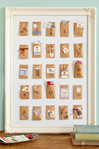 DIY Advent Calendar Envelopes