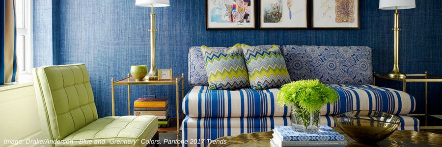 blue and green are the new trend Pantone colors