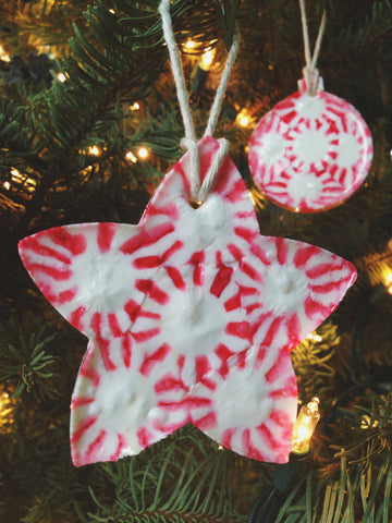 DIY Candy Christmas Ornaments