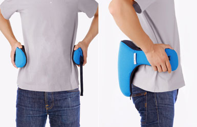 ON YOUR LOWER BACK FOR LUMBAR SUPPORT