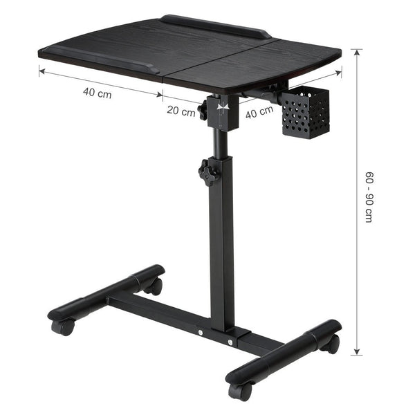 LANGRIA Laptop Desk Cart