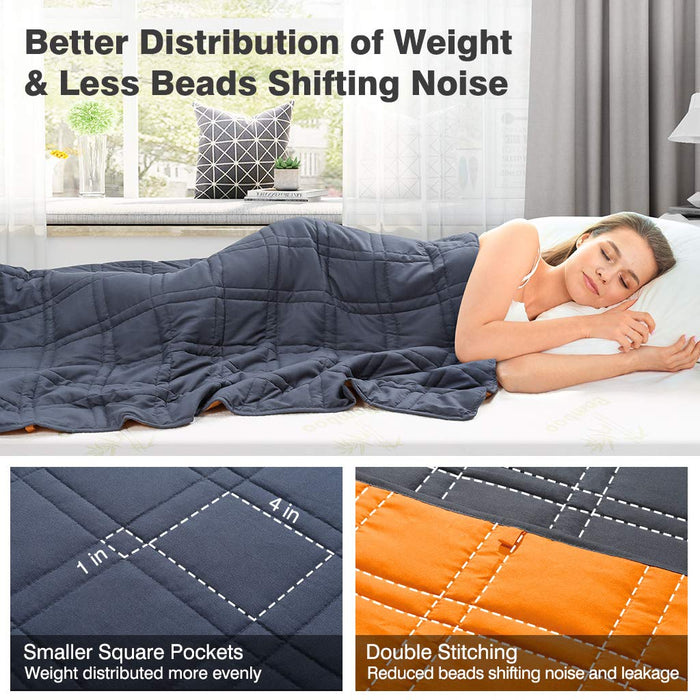Weighted Blanket for Anxiety | Reversible Gravity Blanket
