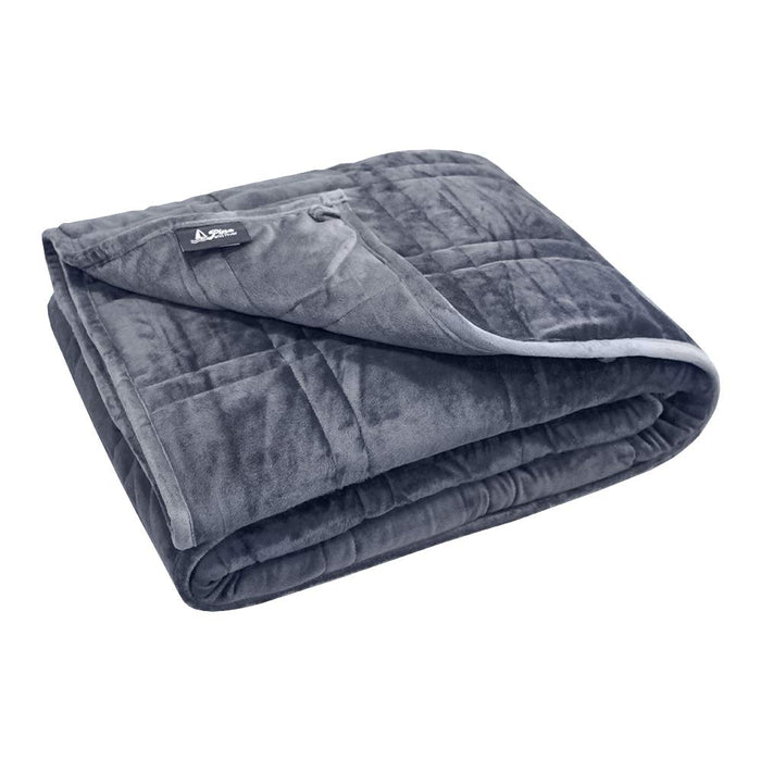 Reversible Weighted Blanket for Adult, Super Soft Micro Minky Blanket