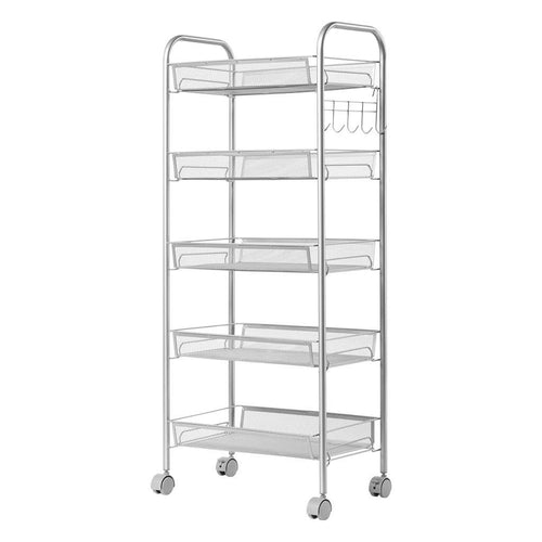 LANGRIA 5-Tier All-Purpose Rolling Cart