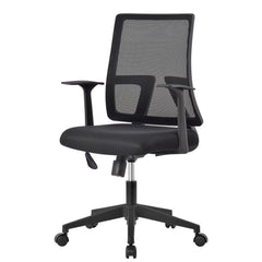LANGRIA Comfortable Medium Back Mesh Task Office Chair
