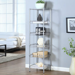 LANGRIA 6 Tier Wire Storage Rack with Baskets