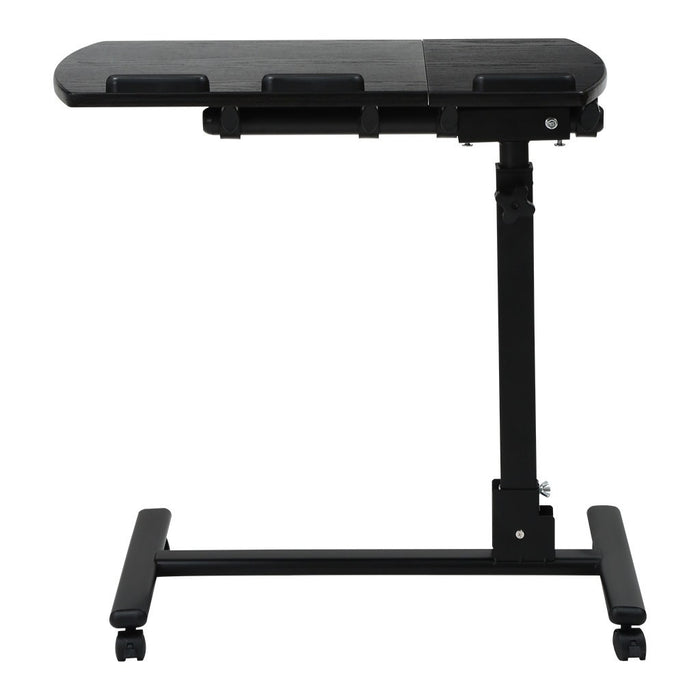 Laptop Rolling Cart Table Height Adjustable Mobile Laptop Stand Desk