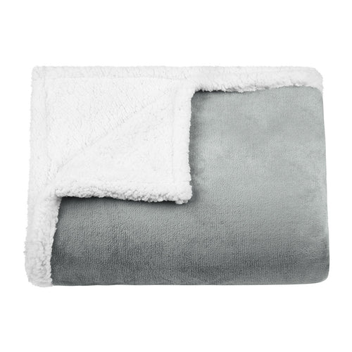 LANGRIA Reversible Fleece Soft Warm Sofa Bed Throw Blanket (60''x 80'')