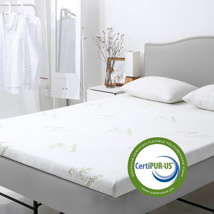 Memory Foam Mattress Topper.3 Inch Gel Infused Memory Foam Mattress Topper Certipur Us Certified Gel Memory Foam