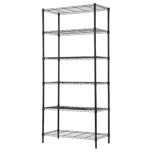 LANGRIA 6 Tier Heavy Duty Extra Large Wire Storage Rack