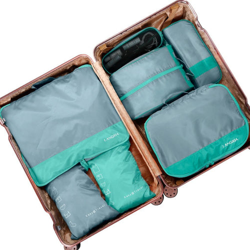 LANGRIA Foldable Waterproof Packing Cubes