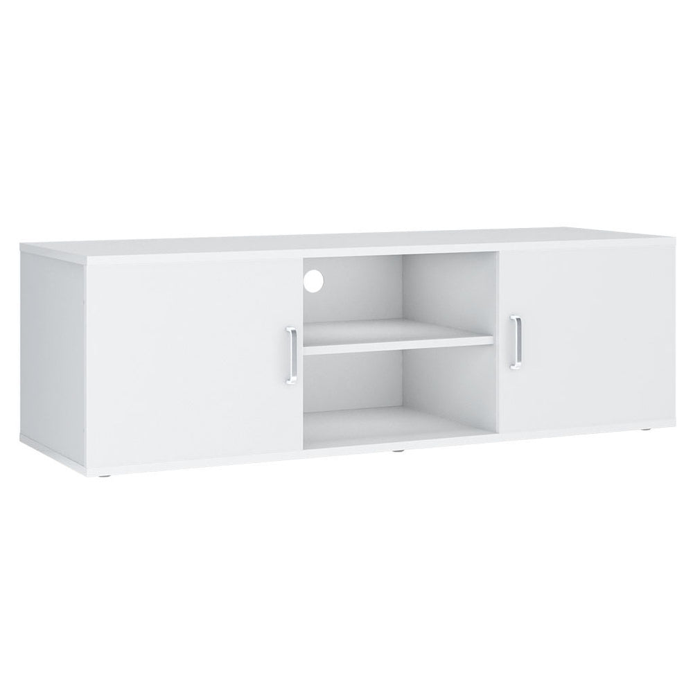LANGRIA TV Stand with 2 Doors