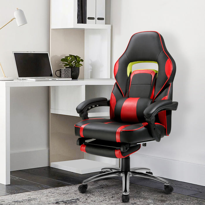 Gaming Chair | faux leather racing style chair