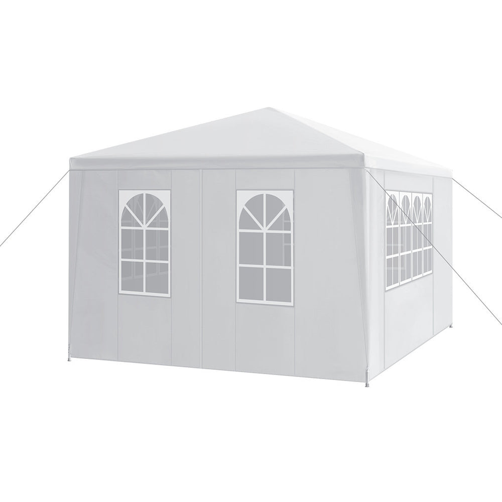 LANGRIA Wedding Party Event Garden Tent with Canopy (3 x 4 m)