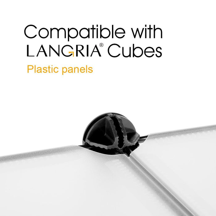LANGRIA Wire Cube Plastic Connectors for Modular Organizer