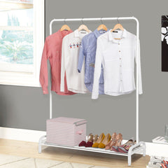 LANGRIA Heavy Duty Commercial Grade Clothing Garment Rack
