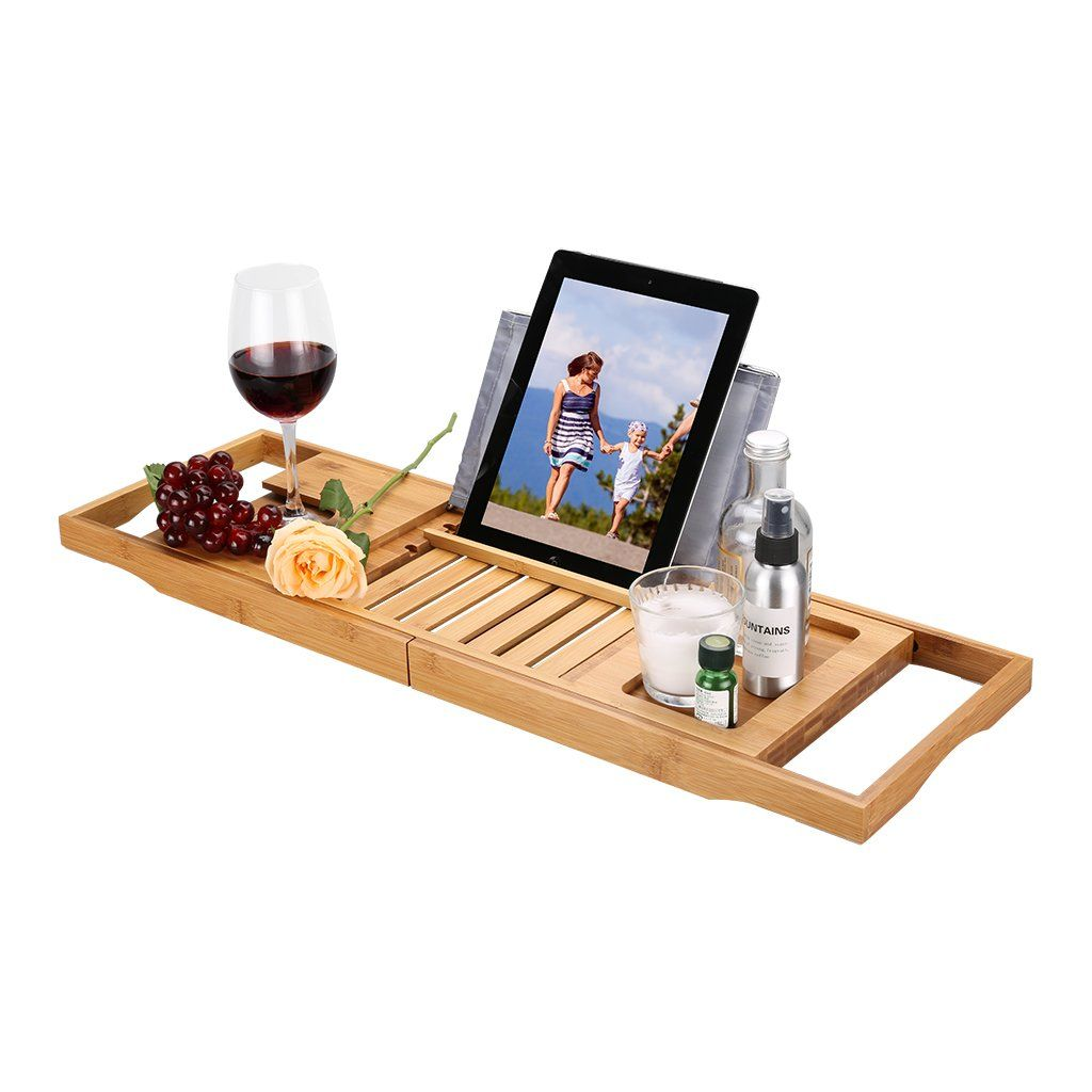 tutorial blog caddy tray diy save tfd style over this wooden with bathtub