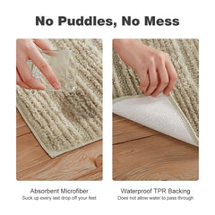 LANGRIA Memory Foam Bathroom Rug