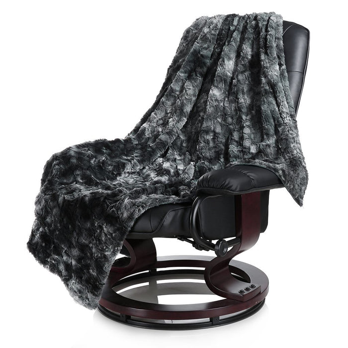 Surprising Luxury Super Soft Faux Fur Fleece Throw Blanket Ncnpc Chair Design For Home Ncnpcorg