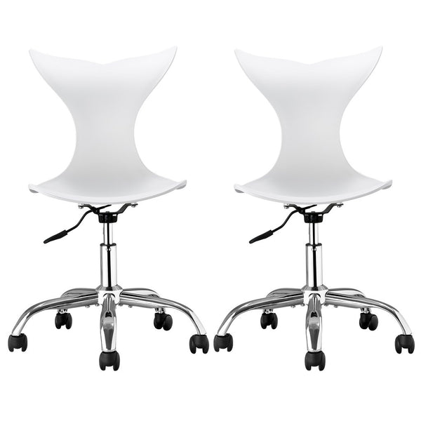 modern desk chair. LANGRIA 2-Pack Modern Desk Chairs Chair U