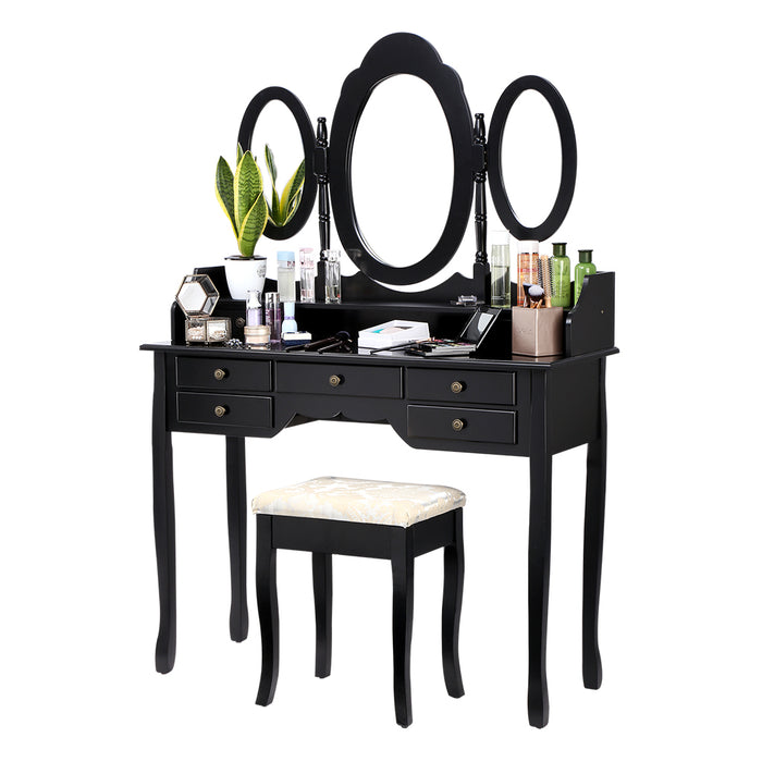 LANGRIA Dressing Table and Stool Set