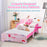 Toddler Kid Bed, Unicorn Themed Children Sleeping Bedroom Furniture